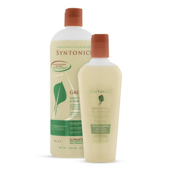 Syntonics Grothentic Vitalizing Shampoo for Relaxed or Natural Hair