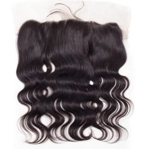 Lace frontal closure 13X2 malaisienne péruvienne