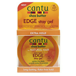 Cantu Shea butter for natural hair Extra Hold Edge Gel
