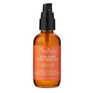SheaMoisture 100% Pure Flax Seed Oil Head To Toe Protection