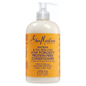 SheaMoisture Baobab & Tea Tree Oils Low Porosity Protein-Free Conditioner