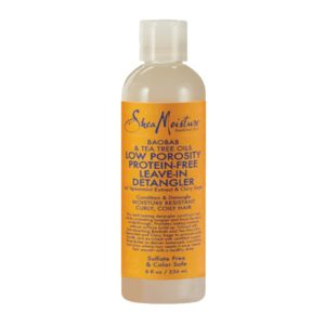 Shea Moisture Baobab & Tea Tree Oils Low Porosity Protein-Free Leave-In Detangler