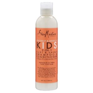 SheaMoisture Coconut & Hibiscus Kids 2 In 1 Curl & Shine Shampoo & Conditioner