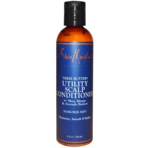 SheaMoisture For Men Three Butters Utility Scalp Conditioner
