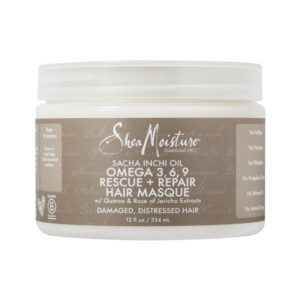 Shea Moisture Sacha Inchi Oil Omega 3, 6, 9 Rescue + Repair Hair Masque