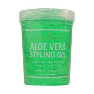 Nubian Queen Aloe Vera Styling Gel 454 g