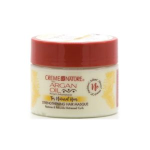 Creme of Nature Argan Oil For Natural Hair Strengthening Hair Masque