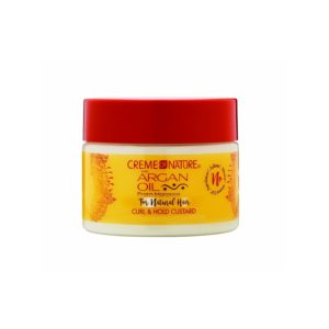 Creme of Nature Argan Oil For Natural Hair Curl & Hold Custard