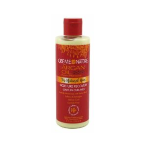 Creme of Nature Argan Oil For Natural Hair Moisture Recovery Leave-In Curl Milk