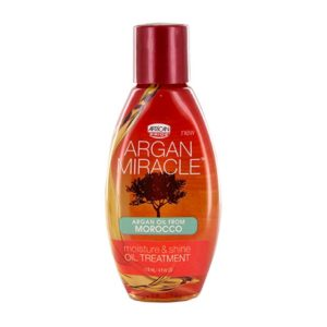 African Pride Argan Miracle Moisture & Shine Oil Treatment