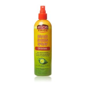 African Pride Braid Sheen Spray Regular