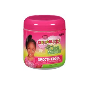 African Pride Dream Kids Olive Miracle Smooth Edges Anti Frizzy Conditioning Gel