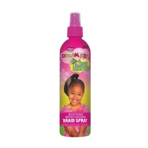 African Pride Dream Kids Olive Miracle Soothing Moisturizing Braid Spray
