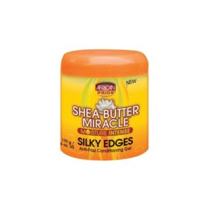 African Pride Shea Butter Miracle Silky Edges Anti-Frizz Conditioner Gel