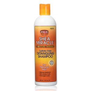 African Pride Shea Miracle Detangling Shampoo