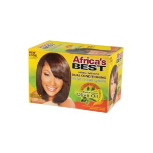 Africa's Best No-Lye Relaxer System Regular 1 Application