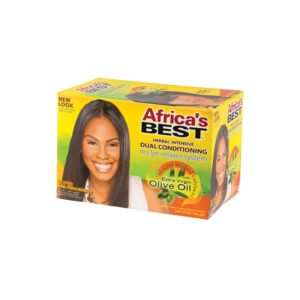 Africa's Best No-Lye Relaxer System Super 1 Application