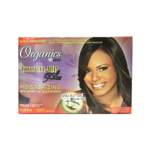 Africa's Best Organics Touch-Up Plus Moisturizing New Growth Relaxer System Super