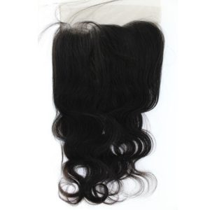 Closure Lace frontal 13x4 péruvienne ou malaisienne Body Wave (ondulée)
