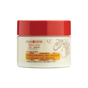 Creme Of Nature Argan Oil For Natural Hair Strengthening Milk Masque