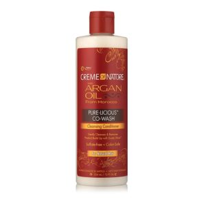 Creme of Nature Argan Oil Pure-Licious Co-Wash Cleansing Conditioner