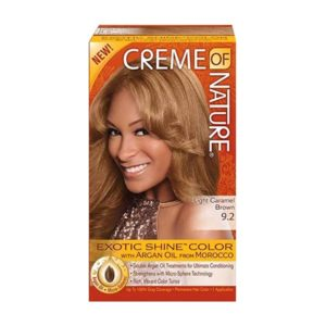 Creme of Nature Exotic Shine Color Light Caramel Brown 9.2