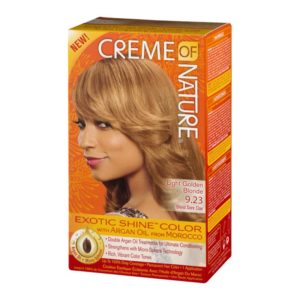 Creme of Nature Exotic Shine Color Light Golden Blonde 9.23