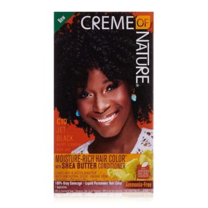 Creme of Nature Moisture-Rich Hair Color C10 Jet Black