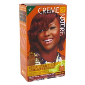 Creme of Nature Moisture-Rich Hair Color C30 Red Hot Burgundy