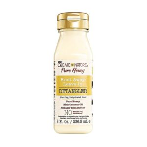 Creme of Nature Pure Honey Knot Away Leave-In Detangler