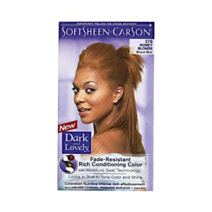 Dark and Lovely Fade-Resistant Rich Conditioning Color C 378 Honey Blonde