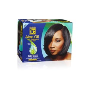 IC Fantasia Aloe Oil Hair Treatment Relaxer Kit Super