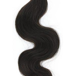 Tissage ou mèche péruvienne ou malaisienne Body Wave (ondulée)