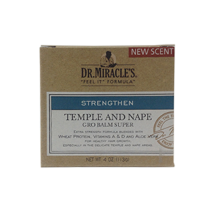 Dr.Miracle's Temple And Nape Gro Balm Super