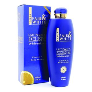 Fair and White Exclusive Whitenizer Body Lotion With Vitanim C