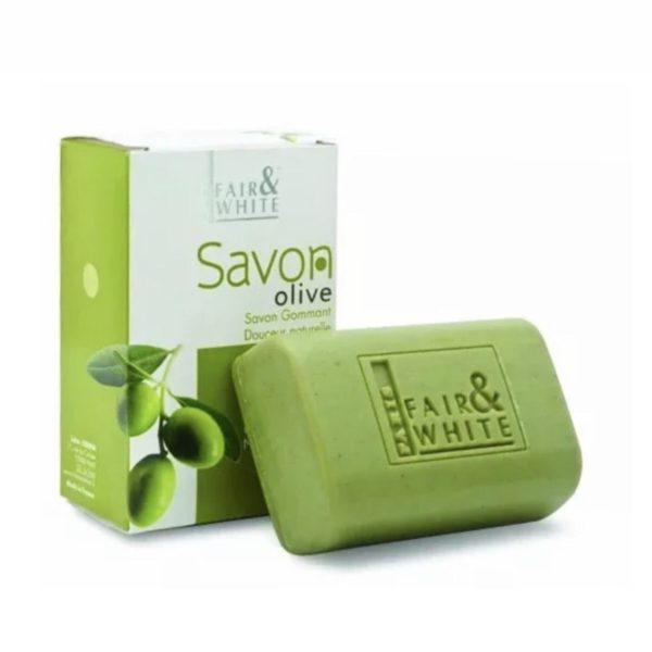Fair and White Original Olive Exfoliating Soap
