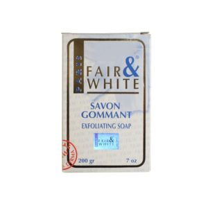 Fair and White Savon Gommant Exfoliating Soap