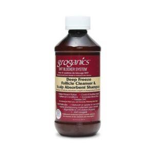 Groganics Deep Freeze Follicle Cleanser & Scalp Absorbent Shampoo